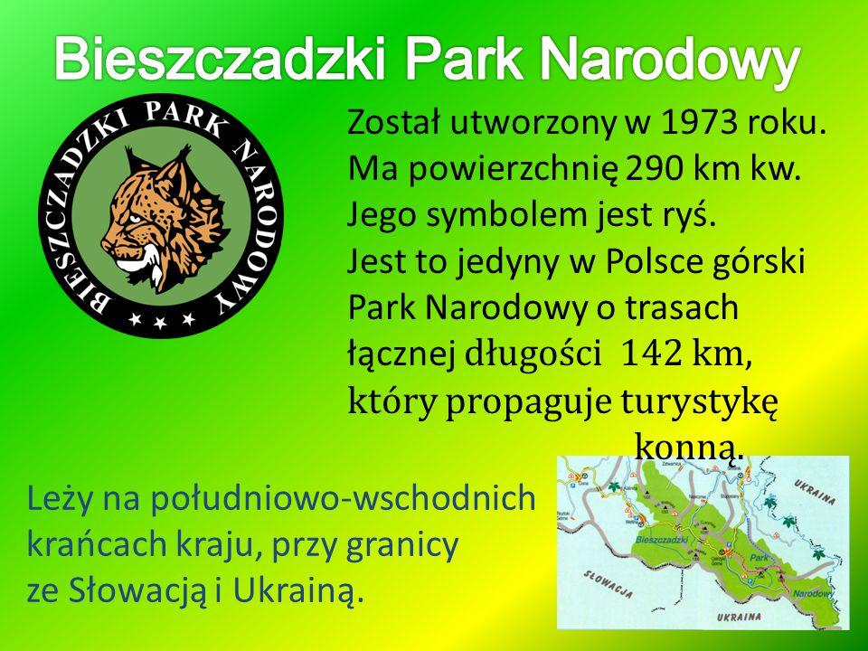 Został utworzony w 1973 roku. Ma powierzchnię 290 km kw. Jego symbolem jest ryś. Jest to jedyny w Polsce górski Park Narodowy o trasach łącznej długoś