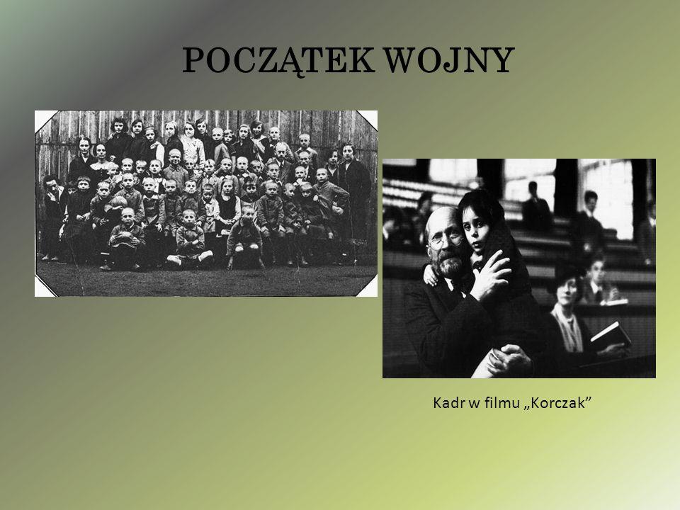 """POCZĄTEK WOJNY Kadr w filmu """"Korczak"""""""