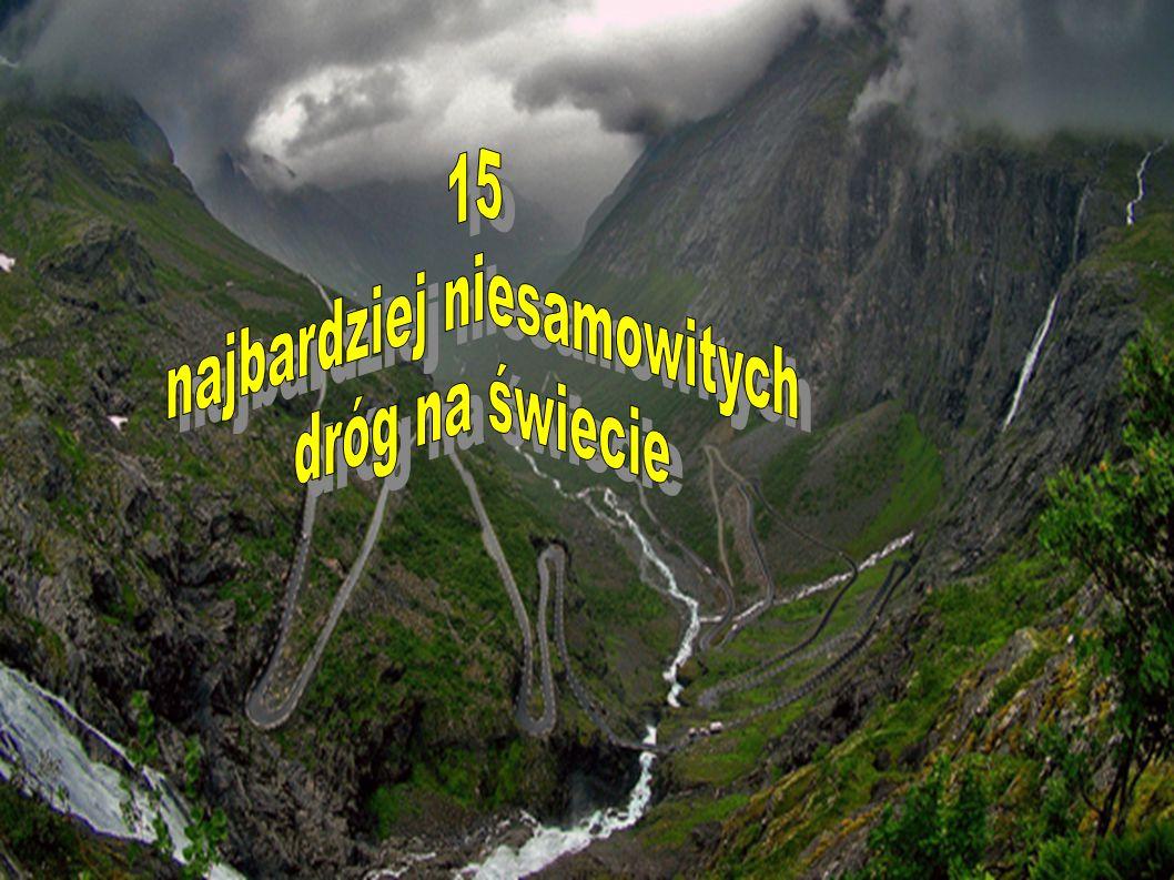 12.Atlantic Road – Norwegia W całym zestawieniu nie mogło zabraknąć kraju skandynawskiego.