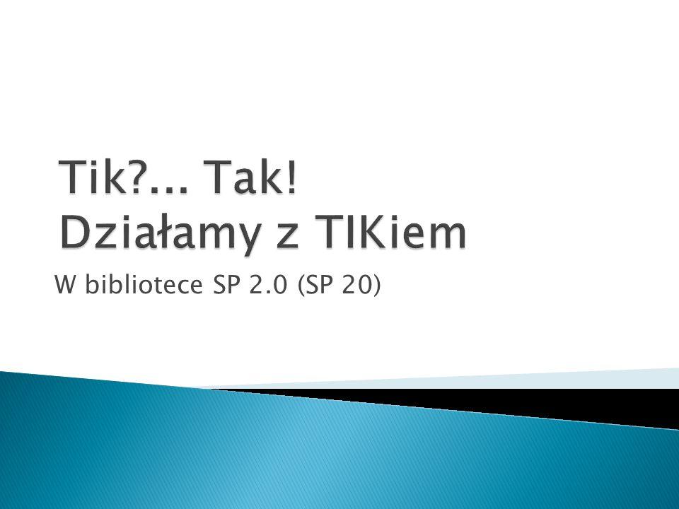 W bibliotece SP 2.0 (SP 20)
