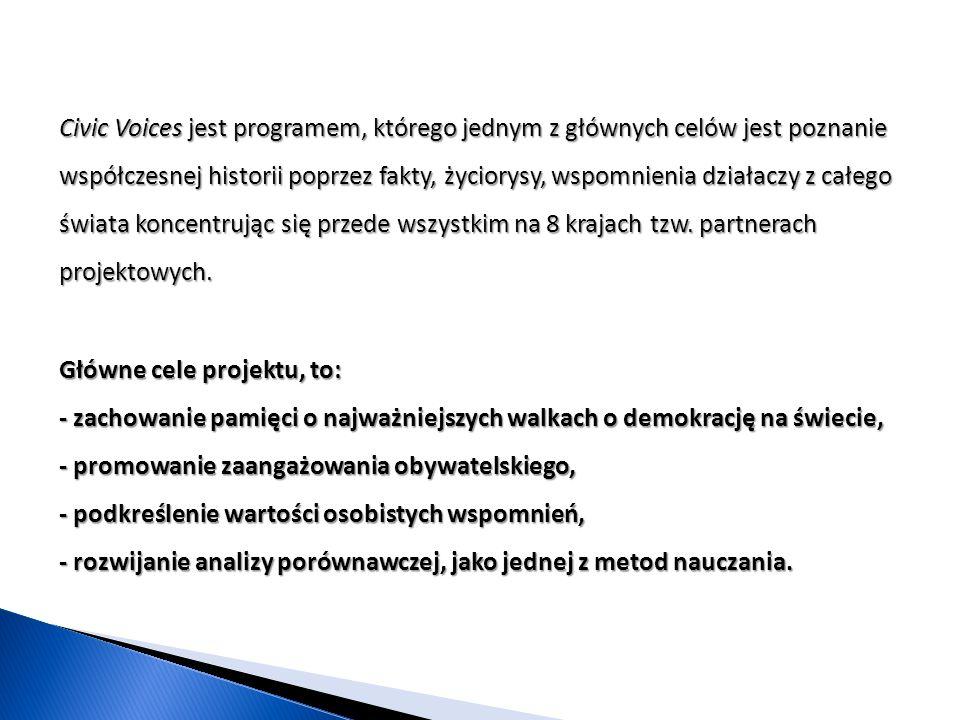 Realizacja projektu (luty-czerwiec 2014) Rozpoczęliśmy od przeglądu podstawowych pojęć związanych z demokracją.Rozpoczęliśmy od przeglądu podstawowych pojęć związanych z demokracją.