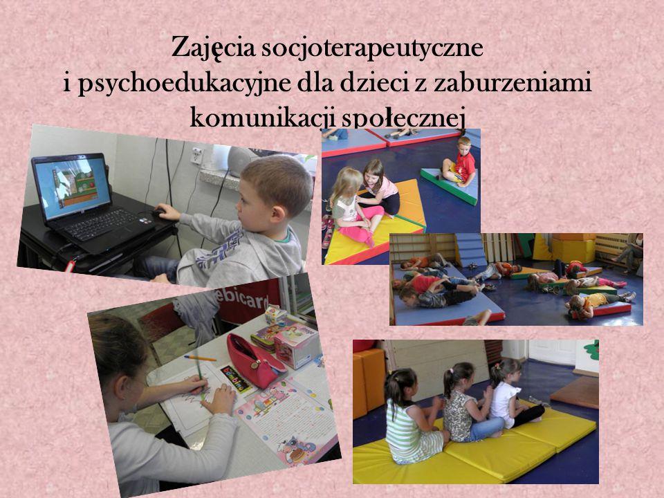Zaj ę cia socjoterapeutyczne i psychoedukacyjne dla dzieci z zaburzeniami komunikacji spo ł ecznej