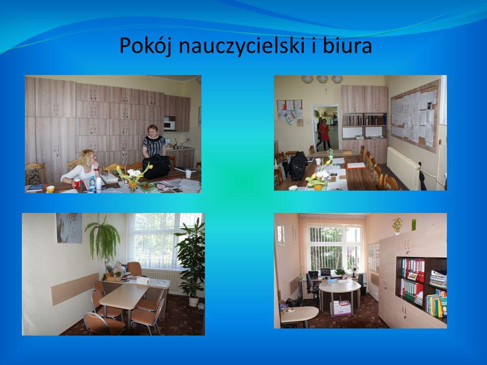 Pokój nauczycielski i biura
