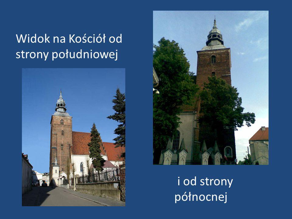 Widok na Kościół od strony południowej i od strony północnej