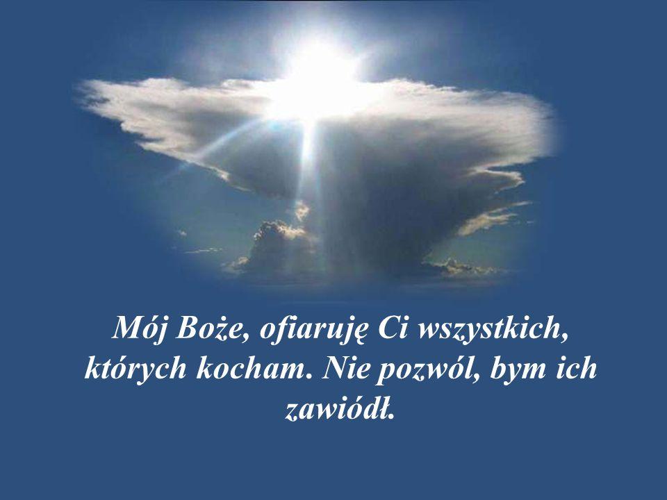 Proszę Cię o to w jedności ze wszystkimi świętymi, z Twoim Kościołem, z Twoim Synem Jezusem Chrystusem – Księciem Pokoju.