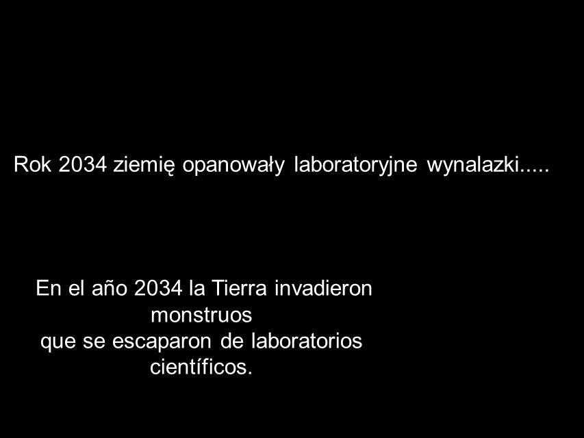 Bunt potworów Wykonanie – JARO i Jastrząb. KL. 6c. REBELION DE MONSTRUOS