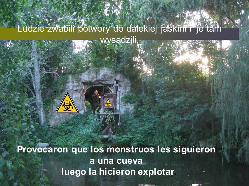 Ludzie nie mogli ich odeprzeć obcych dlatego schowali sie w starym zamku na wyspie myśląc,że uda im się obmyślić plan ich odparcia Pero sus intentos fracasaron, los supervivientes se escondieron en un castillo viejo situado en una isla.