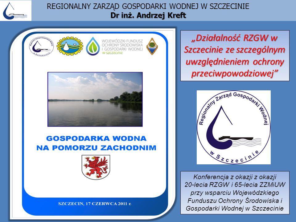 SLAJD 1 – Miejsce RZGW w Szczecinie w podziale Polski na obszary dorzeczy i regiony wodne DR INŻ.