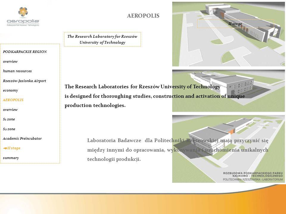 Laboratoria Badawcze dla Politechniki Rzeszowskiej mają przyczynić się między innymi do opracowania, wykonywania i uruchomienia unikalnych technologii