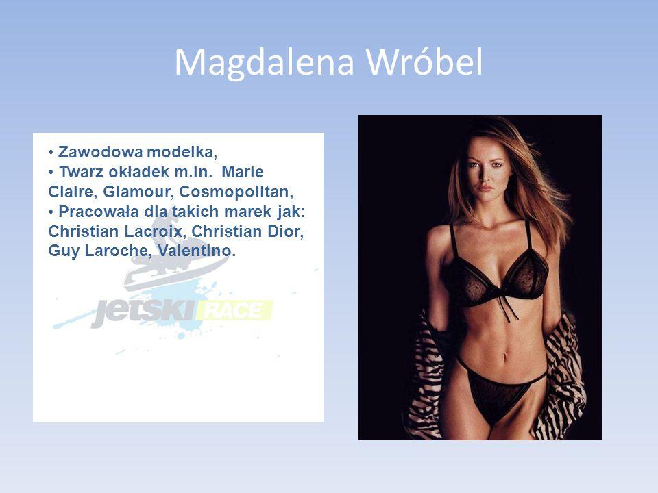 Magdalena Wróbel Zawodowa modelka, Twarz okładek m.in.