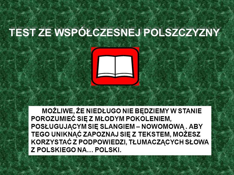 """Z cyklu : """" Wykłady profesora Miodka – Słownik współczesnej polszczyzny by Werner"""