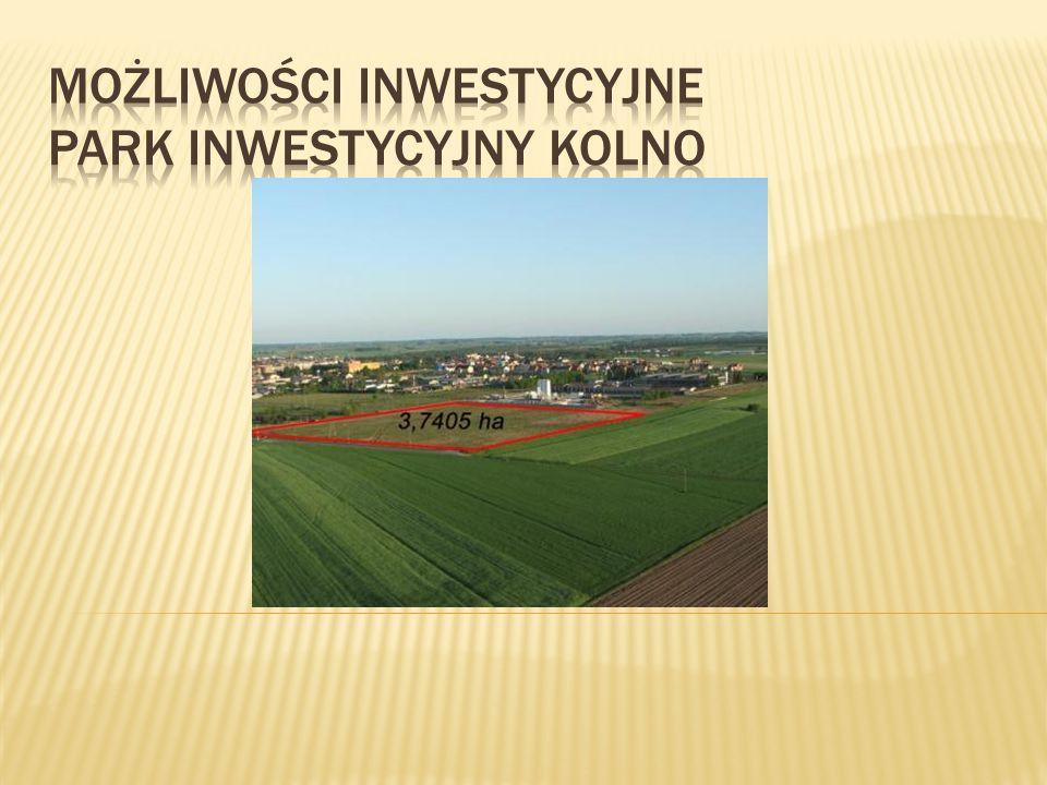 Teren inwestycyjny wchodzi w skład obszaru Parku Inwestycyjnego Kolno, nieruchomość o powierzchni 3,7405 ha ma kształt prostokąta i stanowi własność Miasta Kolno.