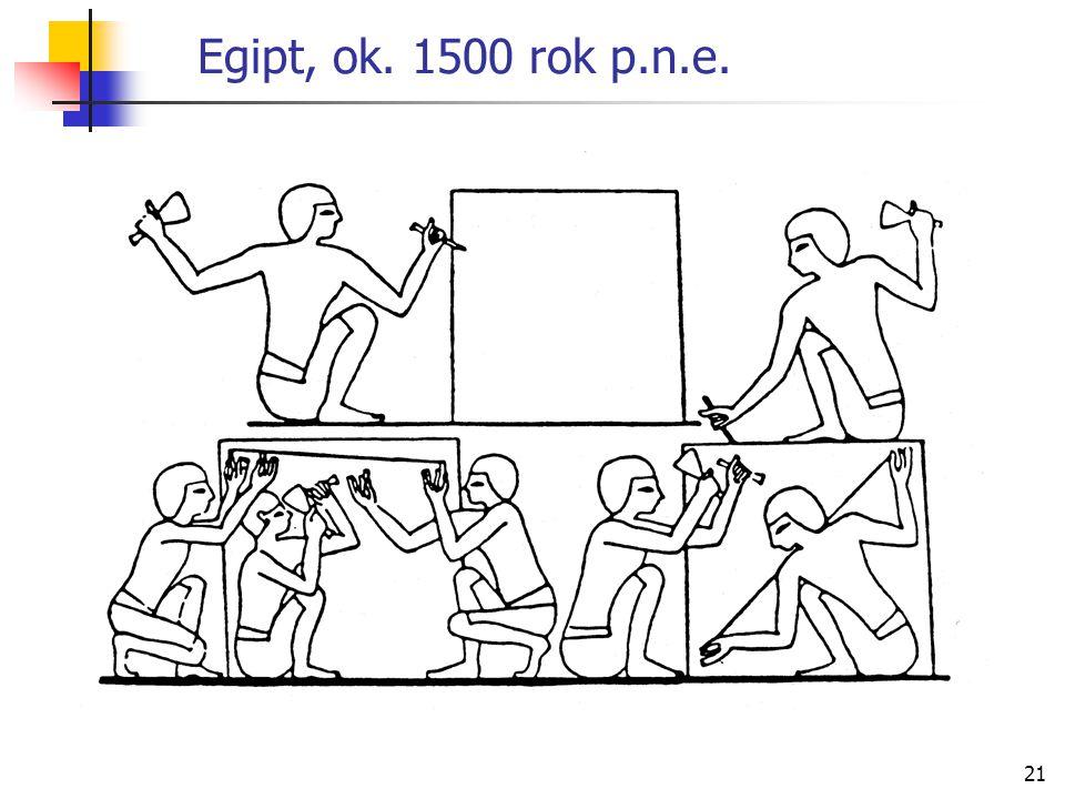 21 Egipt, ok. 1500 rok p.n.e.