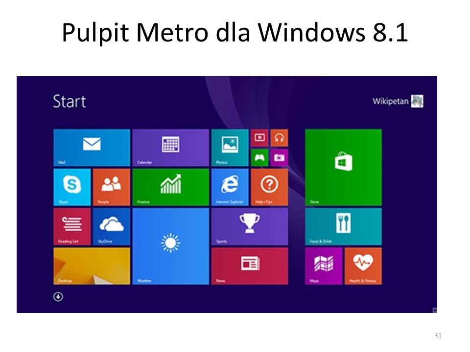 Pulpit Metro dla Windows 8.1 31