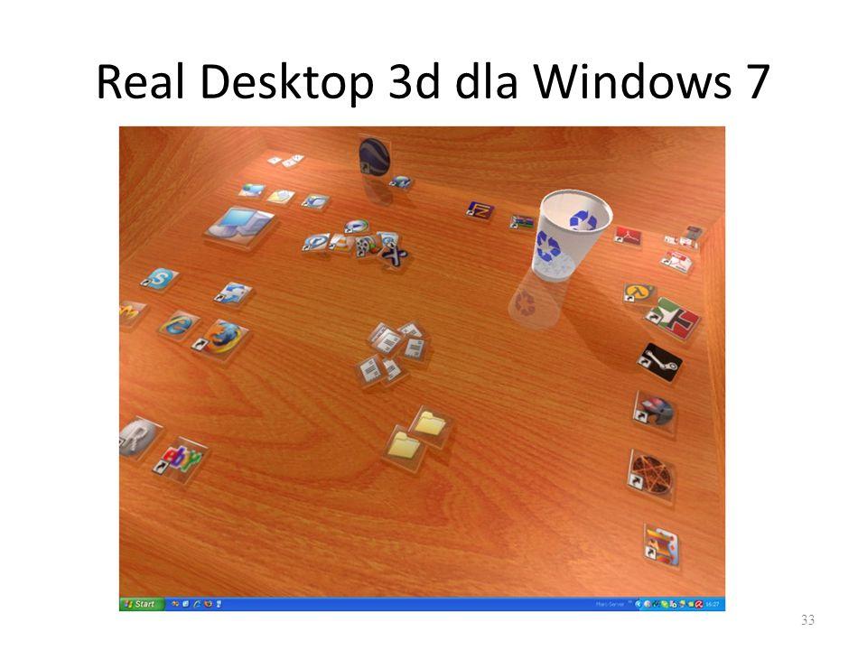 Real Desktop 3d dla Windows 7 33