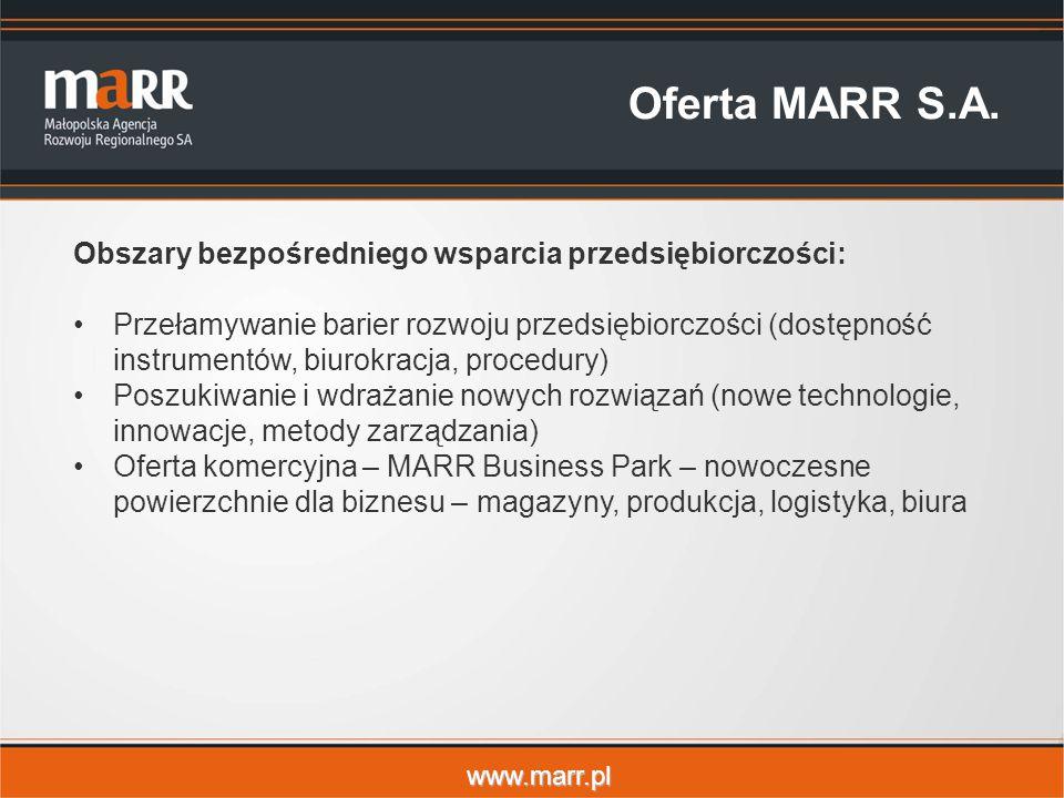www.marr.pl Oferta MARR S.A.
