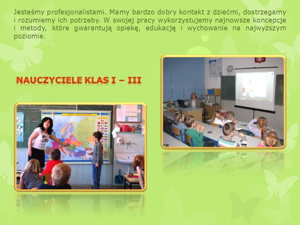 Czeka na Was wykształcona kadra pedagogiczna, miły zespół pełnych pasji i ciepła nauczycieli, dbających o przyjazną atmosferę w szkole.