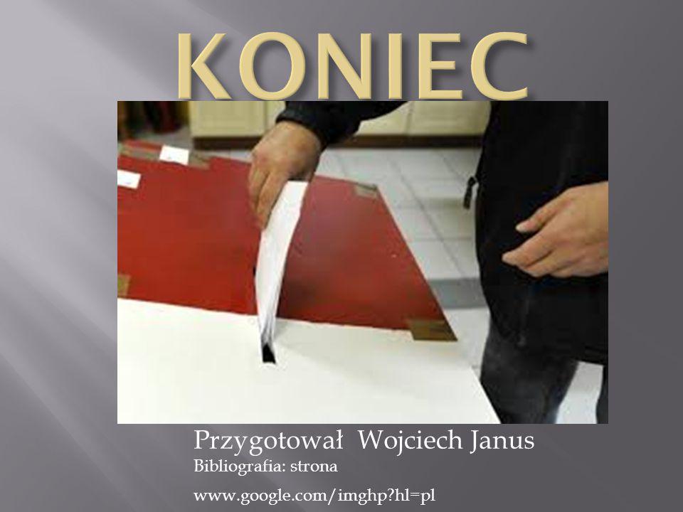 Przygotował Wojciech Janus Bibliografia: strona www.google.com/imghp?hl=pl