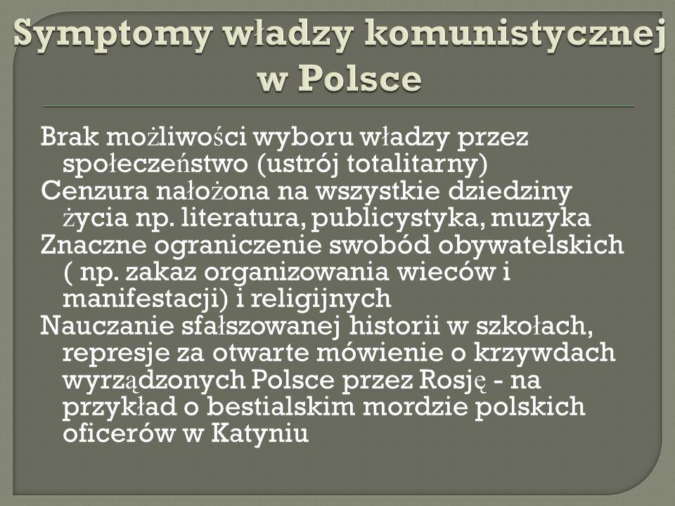  19.01.1947 roku w Polsce odby ł y si ę pierwsze wybory po II wojnie Ś wiatowej.