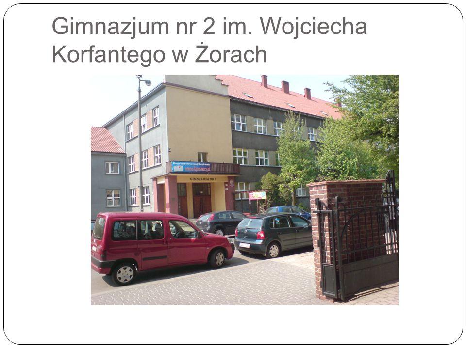 Gimnazjum nr 2 im. Wojciecha Korfantego w Żorach