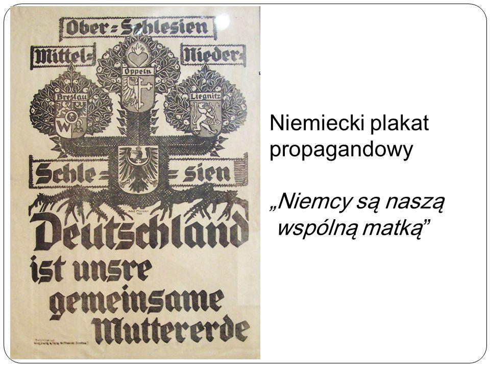 """Niemiecki plakat propagandowy """"Niemcy są naszą wspólną matką """""""