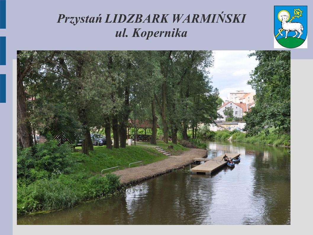 Przystań LIDZBARK WARMIŃSKI ul. Kopernika