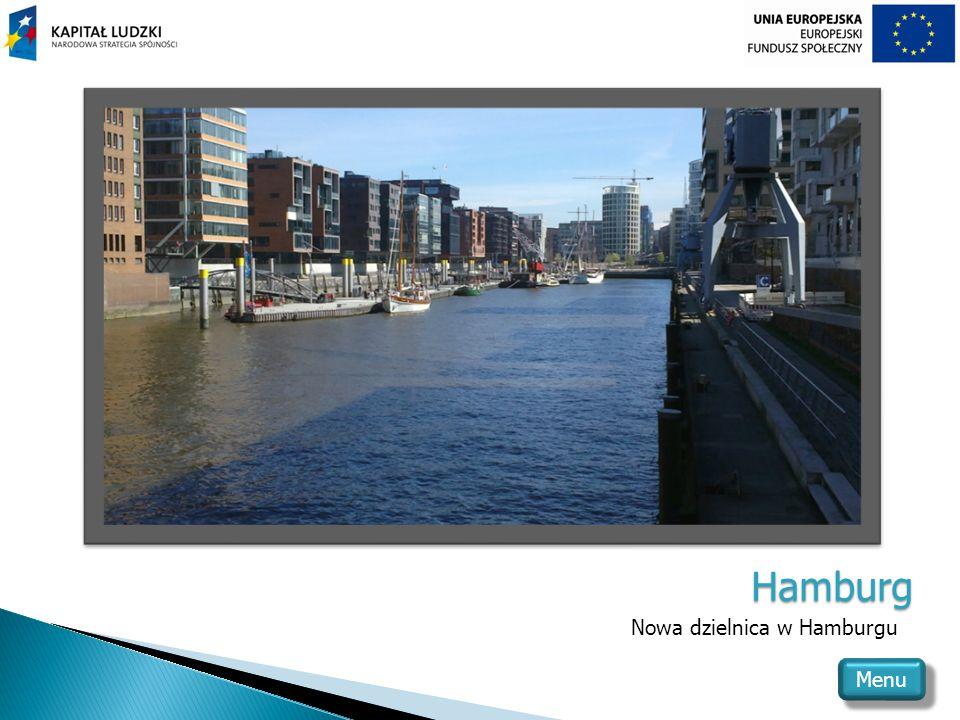 Hamburg Nowa dzielnica w Hamburgu Menu