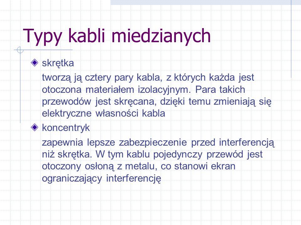 Kamil Szutkowski 23 XI 2002 Topologia Sieci SKOS PG