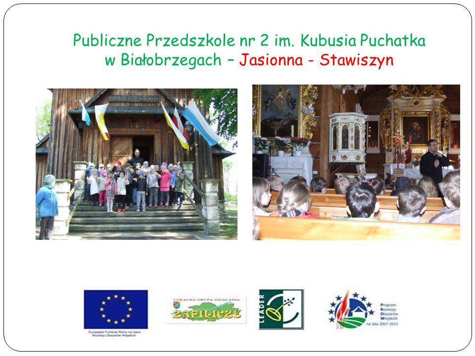 Publiczne Przedszkole nr 2 im. Kubusia Puchatka w Białobrzegach – Jasionna - Stawiszyn