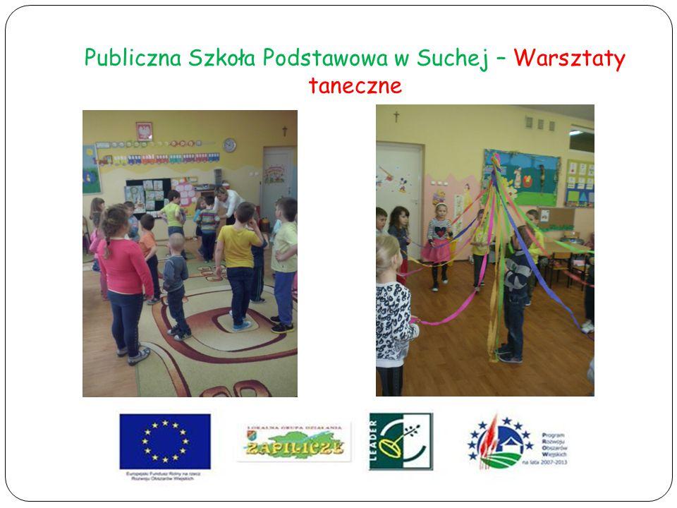 Publiczna Szkoła Podstawowa w Suchej – Warsztaty taneczne