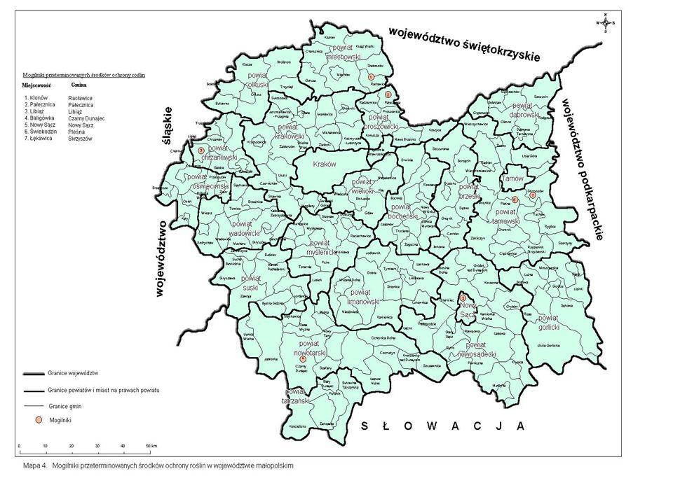 Masy środków w poszczególnych województwach są znacznie zróżnicowane.