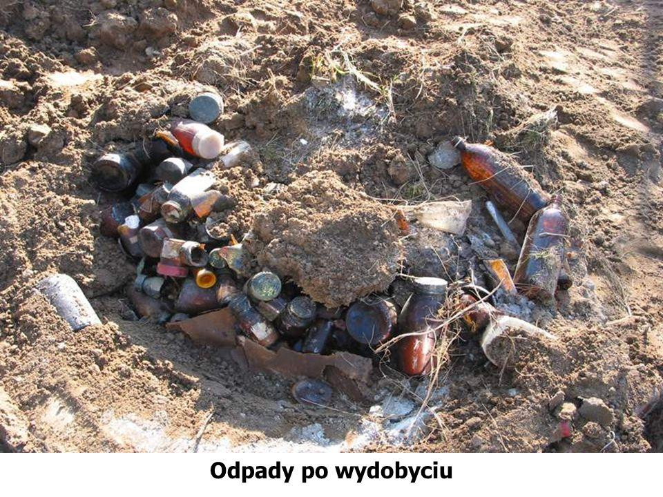 Odpady po wydobyciu