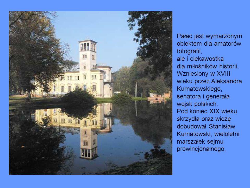 Pałac jest wymarzonym obiektem dla amatorów fotografii, ale i ciekawostką dla miłośników historii. Wzniesiony w XVIII wieku przez Aleksandra Kurnatows