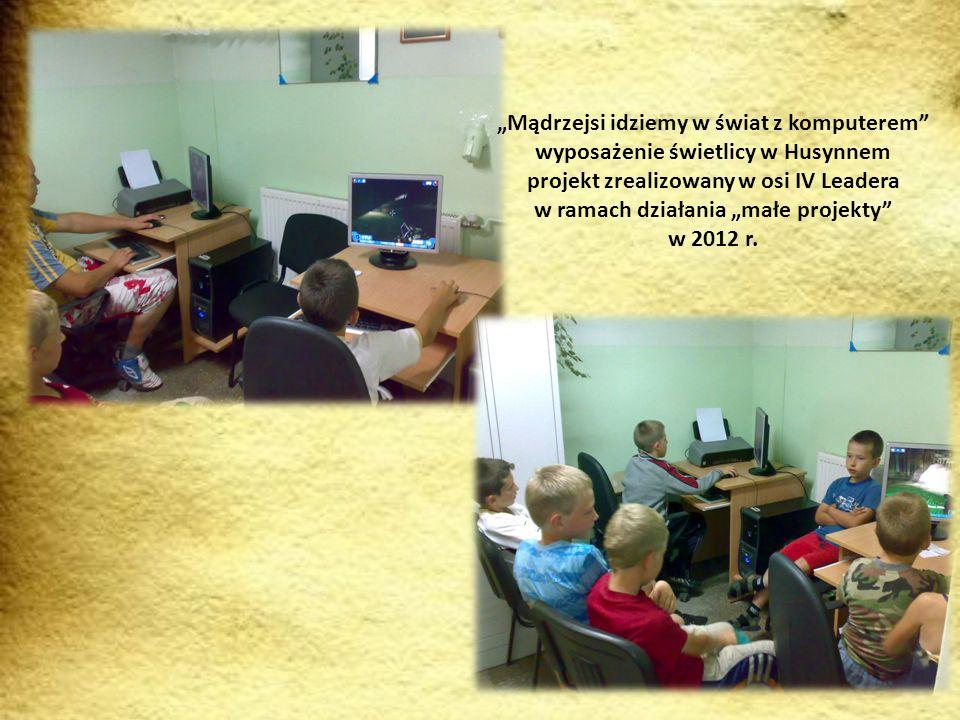 """Modernizacja świetlicy w Moroczynie projekt zrealizowany w osi IV Leadera w ramach działania """"małe projekty w 2012 r."""