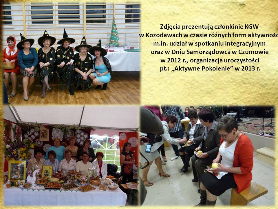 Na zdjęciu członkowie Stowarzyszenia Rozwoju i Promocji Wsi Dabrowa (zdjęcie wykonane w czasie uroczystości zakończenia roku szkolnego)