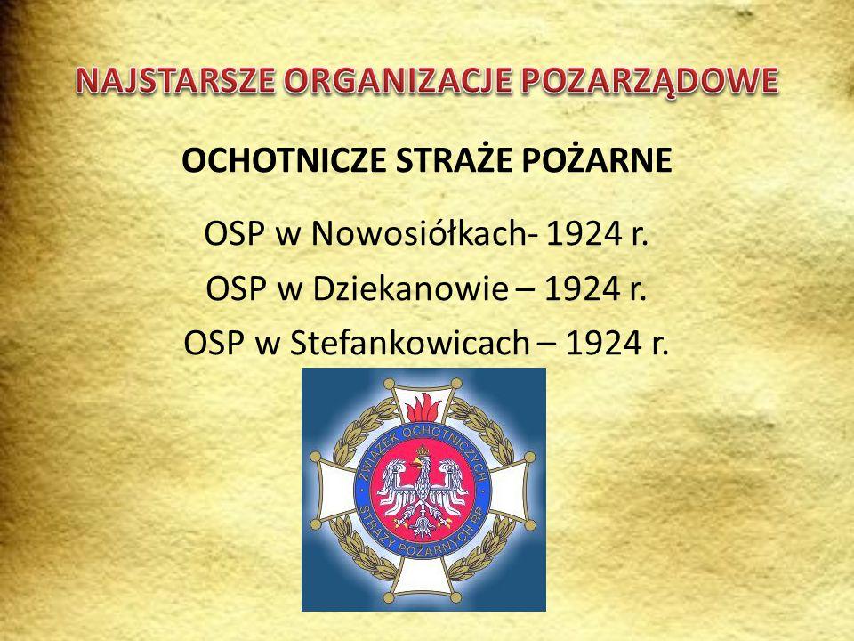 """NAJSTARSZE STOWARZYSZENIA - Stowarzyszenie """"Nieoboj ę tni - 22.06.1996r."""