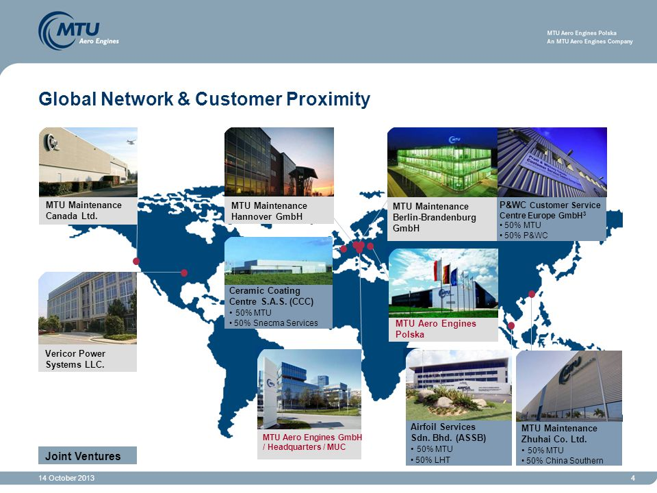 14 October 20134 Global Network & Customer Proximity Ceramic Coating Centre S.A.S.