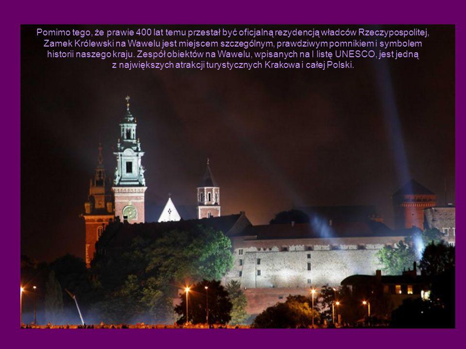 Pomimo tego, że prawie 400 lat temu przestał być oficjalną rezydencją władców Rzeczypospolitej, Zamek Królewski na Wawelu jest miejscem szczególnym, prawdziwym pomnikiem i symbolem historii naszego kraju.