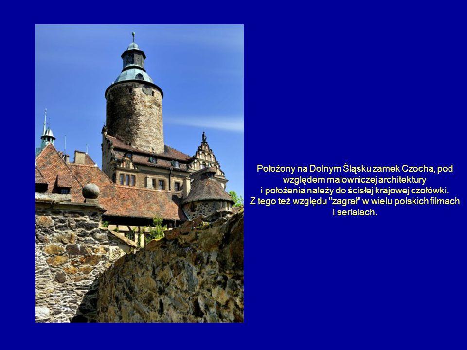 Położony na Dolnym Śląsku zamek Czocha, pod względem malowniczej architektury i położenia należy do ścisłej krajowej czołówki. Z tego też względu