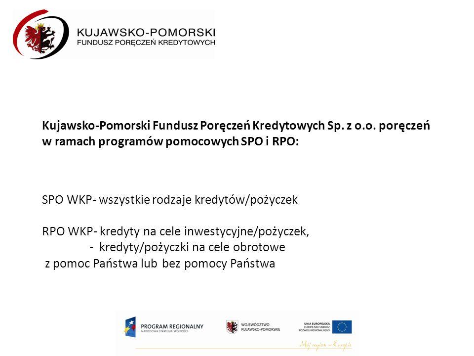 Kujawsko-Pomorski Fundusz Poręczeń Kredytowych Sp.
