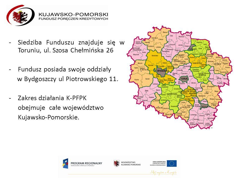 -Siedziba Funduszu znajduje się w Toruniu, ul.