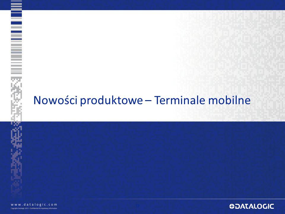 19 Nowości produktowe – Terminale mobilne