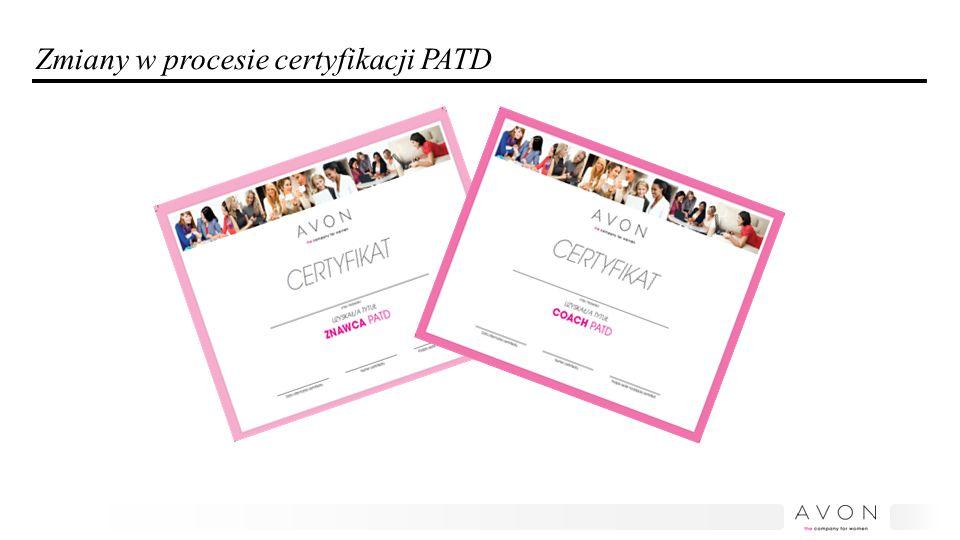 Zmiany w procesie certyfikacji PATD