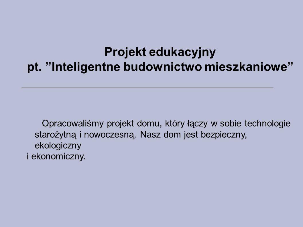 Projekt edukacyjny pt.