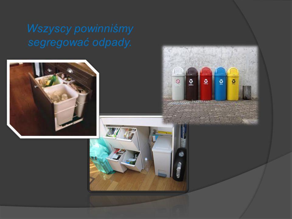 Co można zrobić z odpadami ? Odpady Składowanie Utylizacja Recykling