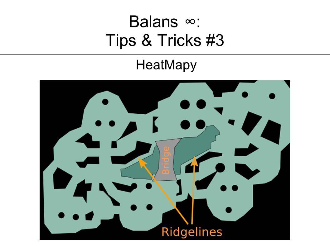 Balans ∞: Tips & Tricks #3 HeatMapy