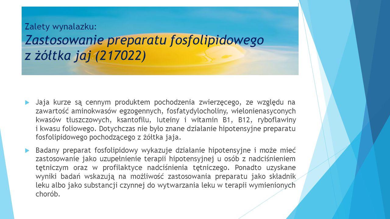  Jaja kurze są cennym produktem pochodzenia zwierzęcego, ze względu na zawartość aminokwasów egzogennych, fosfatydylocholiny, wielonienasyconych kwas