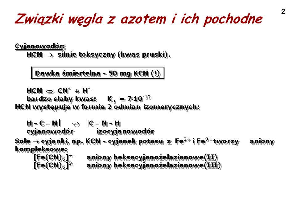 3 Właściwości chemiczne węglowców - węgliki Węgliki, to związki węgla z pierwiastkami mniej od niego elektroujemnymi.