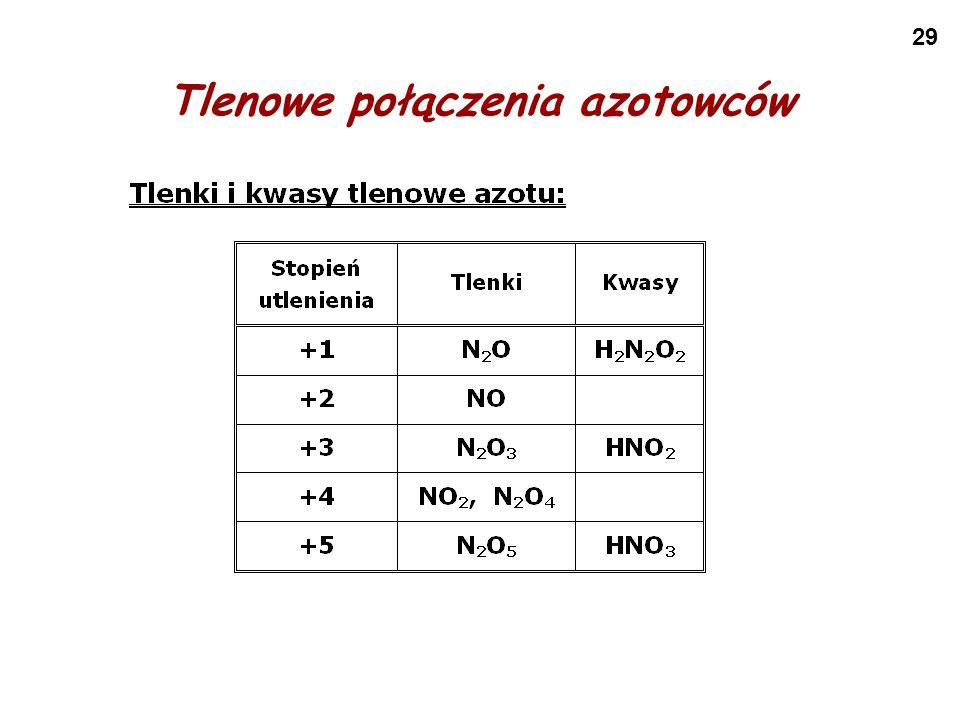 29 Tlenowe połączenia azotowców