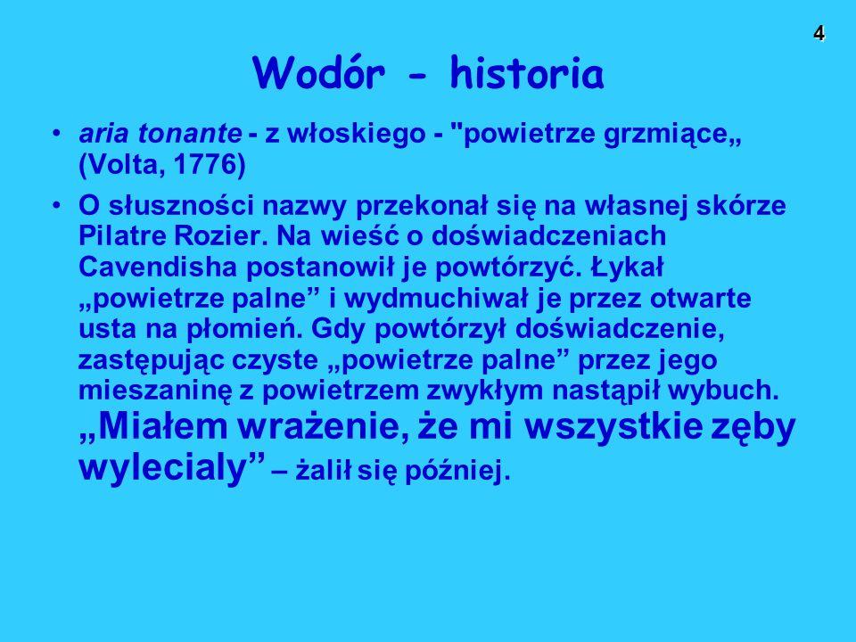4 Wodór - historia aria tonante - z włoskiego -